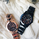 Relax Time 時尚達人日曆顯示情侶對錶-42+38mm R0800-16-10X+R0800-16-31