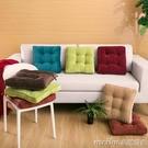坐墊學生家用椅墊辦公室椅子墊子凳增高座墊榻榻米地板屁股墊 美芭