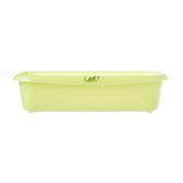 綠葉長型收納盒/G