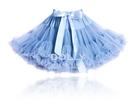 【荷蘭 DOLLY】公主雪紡澎裙 - 愛麗絲淡藍 PET27NB (3-18個月嬰幼尺寸)