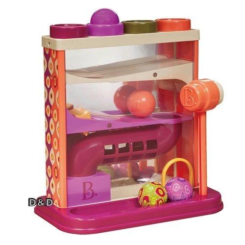 《 B.toys 》哇哈哈槌球 / JOYBUS玩具百貨