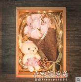 生日禮物女生送女朋友閨蜜實用創意玫瑰香皂花禮盒手工diy特別的『艾莎嚴選』