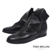 Tino Bellini義大利進口彼德潘內增高短靴_黑 B69038 歐洲進口