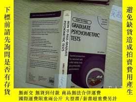 二手書博民逛書店HOW罕見TO PASS GRADUATE PSYCHOMETR