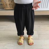 辰辰媽嬰童裝女童褲子夏季兒童仿絲麻奶奶褲休閑褲薄款小寶寶長褲【星時代女王】