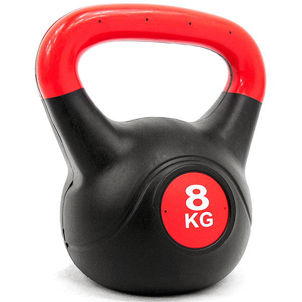 重力8公斤壺鈴(17.6磅)8KG壺鈴拉環啞鈴搖擺鈴舉重量訓練運動健身器材推薦專賣店KettleBell