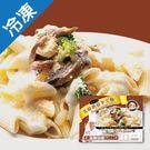 金品帕多瓦乳酪蘑菇筆尖麵280G/盒【愛買冷凍】