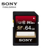 SONY 64GB SDHC UHS-1 C10 U3記憶卡 (SF-UX2)