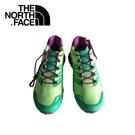 【The North Face 女 越野跑鞋《天堂綠/拜占庭紫》】CCP5/登山/運動