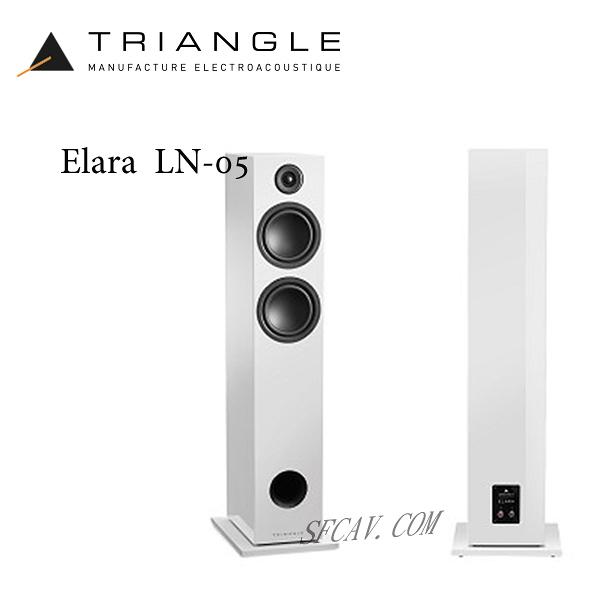 【竹北音響勝豐群】Triangle Elara LN-05 落地型喇叭 White ( Magellan / Signautre )