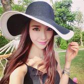 草帽-遮陽帽出游沙灘女士度假 巴黎春天