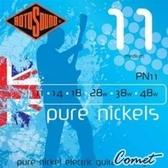 ROTOSOUND PN11 鍍鎳電吉他弦(11-48) 【英國製/電吉他弦/PN-11】