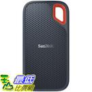 [8美國直購] SanDisk 500GB Extreme Portable External SSD - Up to 550MB/s - USB-C, USB 3.1 - SDSSDE60-500G-G25