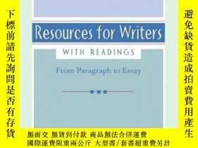 二手書博民逛書店Resources罕見For Writers, With ReadingsY364682 Long, Eliz