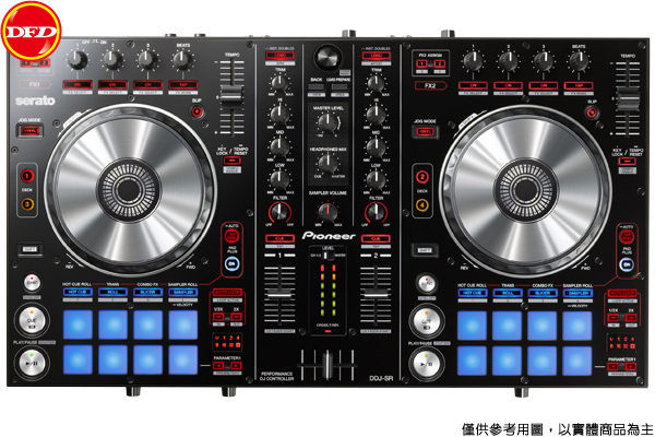 先鋒 Pioneer DDJ-SR Serato DJ 雙軌控制器