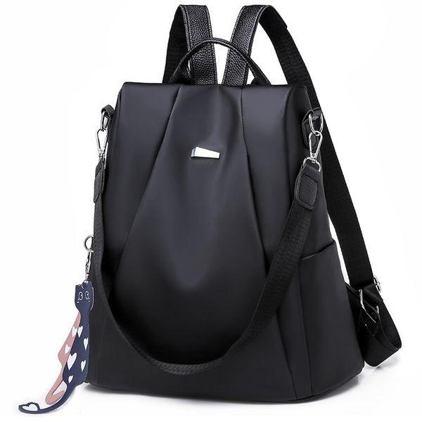 女包包 兩用包  新款韓風防水防盜牛津布後背包 可當側背 編號 361歌聲 禮物