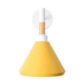 (組)特力屋萊特烤漆壁燈黃鐵燈罩