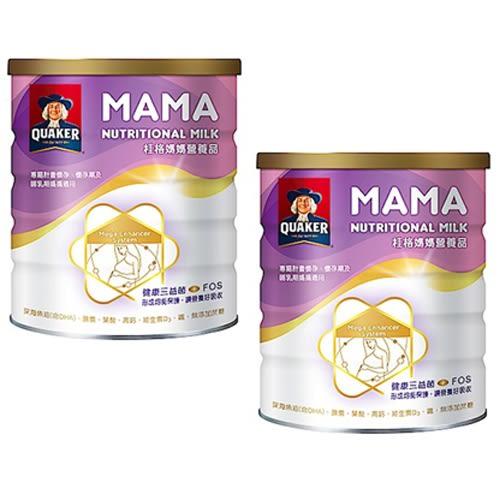 桂格媽媽 營養奶粉 850g 2入特惠組【德芳保健藥妝】