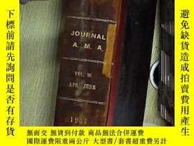 二手書博民逛書店the罕見journal of the american medical association vol.96 1