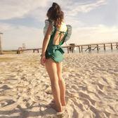兒童泳衣性感露背裝韓版女童連身泳衣