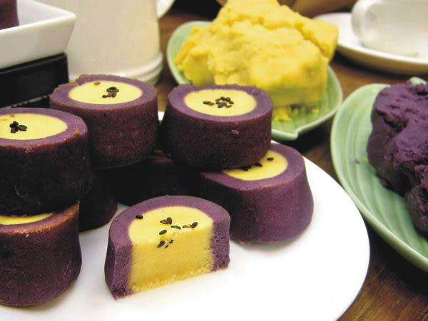 洄瀾薯道-紫色戀人『有機黃金薯與紫心薯的相愛故事』   (6入/盒)