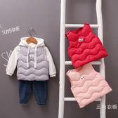 女寶寶秋冬羽絨棉馬甲0一1歲韓版2時尚3-6個月男童坎肩背心嬰兒潮