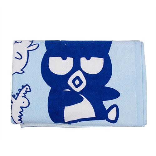 【震撼精品百貨】Bad Badtz-maru_酷企鵝~《Sanrio》酷企鵝滿版圖案純棉大浴巾(趣味好朋友)