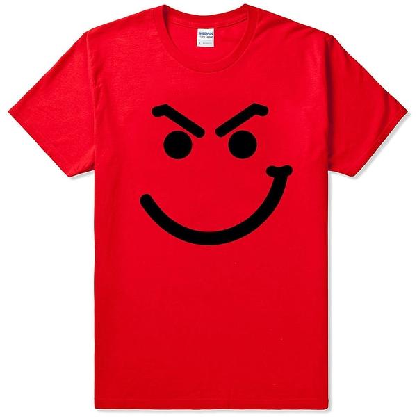 Bon Jovi Smirk 短袖T恤-紅色 邦橋飛 樂團 金屬 rock metal heavy 設計
