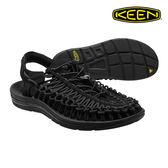 KEEN 織帶涼鞋Uneek 1014097《男款》/ 城市綠洲 (編繩結構.輕量.戶外休閒鞋.運動涼鞋)