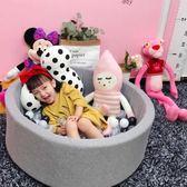 海洋球 ins兒童海洋球池寶寶波波球室內游戲圍欄游樂玩具裝飾彩色網紅球RM