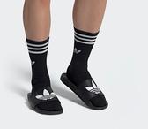 現貨 ADIDAS ORIGINALS ADILETTE LITE 黑白 軟底 拖鞋 男女 EG9842