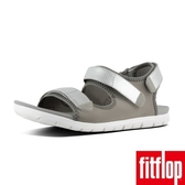【FitFlop】NEOFLEX BACK-STRAP SANDALS(淺灰/銀色)