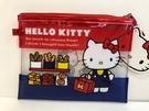 【震撼精品百貨】Hello Kitty 凱蒂貓~Hello Kitty 凱蒂貓化妝包-透明麵包