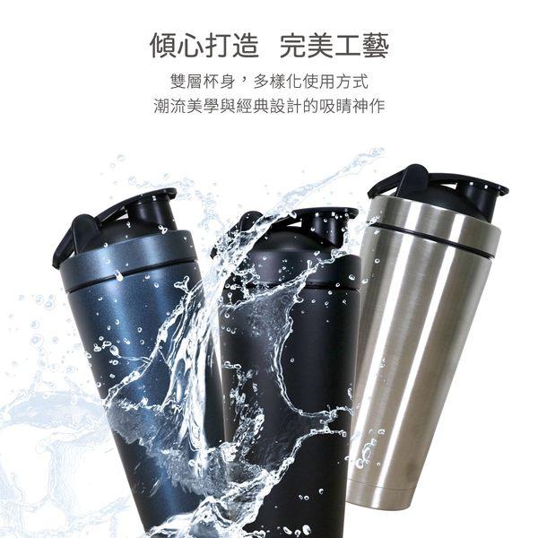 運動 水壺 冰霸搖搖杯 不鏽鋼 健身 高蛋白 乳清 冰霸杯 環保杯 禮贈品 附攪拌球