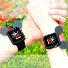 主購型號的 卡通造型保護套/彩色手錶軟套/iWatch軟殼/隨機色