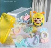 嬰兒玩具搖鈴可咬0-1歲一2益智男孩女寶寶 簡而美
