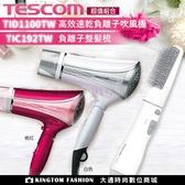 【贈TIC192整髮梳】TESCOM TID1100TW 高效速乾負離子吹風機 雙氣流風罩設計 公司貨 保固12個月
