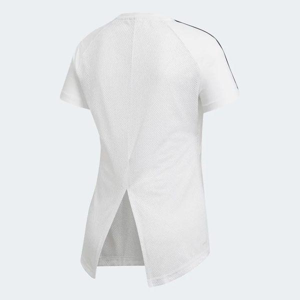 ADIDAS W D2M 3S TEE 女裝 短袖 休閒 慢跑 吸濕 排汗 透膚 白【運動世界】DS8723