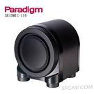 【竹北勝豐群音響】Paradigm SEISMIC 110 工業設計 主動式超低音喇叭