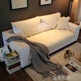 沙發套 冬季短毛絨沙發墊防滑簡約現代歐式坐墊沙發套全包萬能靠背巾家用 現貨