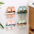 壁掛拖鞋架 鞋架 拖鞋架 浴室拖鞋架 黏貼式拖鞋架 一字拖鞋架 置物架 收納架【RS1311】