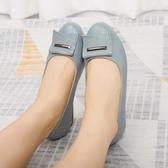 媽媽鞋軟底舒適平底單鞋中老年皮鞋40-50歲中年女鞋春季新款 居享優品