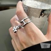 戒指女可調節復古一套酷個性指環【小檸檬3C】