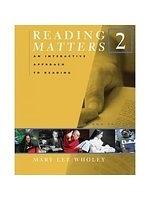 二手書博民逛書店 《Reading Matters: Bk. 2: Level 2》 R2Y ISBN:0618475133│Wholey
