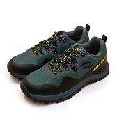 LIKA夢 LOTTO 專業防水郊山戶外越野跑鞋 FALCO隼系列 灰綠黑 2555 男