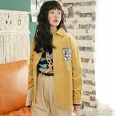 牛仔外套 牛仔襯衫女長袖寬鬆中長款學生韓版襯衣外套 歌莉婭