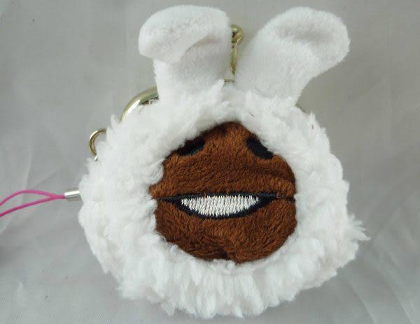 【震撼精品百貨】Touch Detective 菇菇栽培方吉磨菇~造型絨毛珠扣零錢包吊飾『羊』