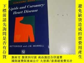 二手書博民逛書店Lipids罕見and Coronary Heart Disea