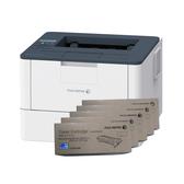 FujiXerox DocuPrint P375d 黑白雷射印表機 搭五支CT203108原廠碳粉匣