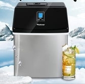 沃拓萊制冰機25kg商用小型奶茶店手動家用吧台式酒吧方冰塊製作機 ATFkoko時裝店